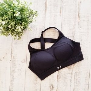 Under Armour Fitted Padded Sports Bra Adjustable
